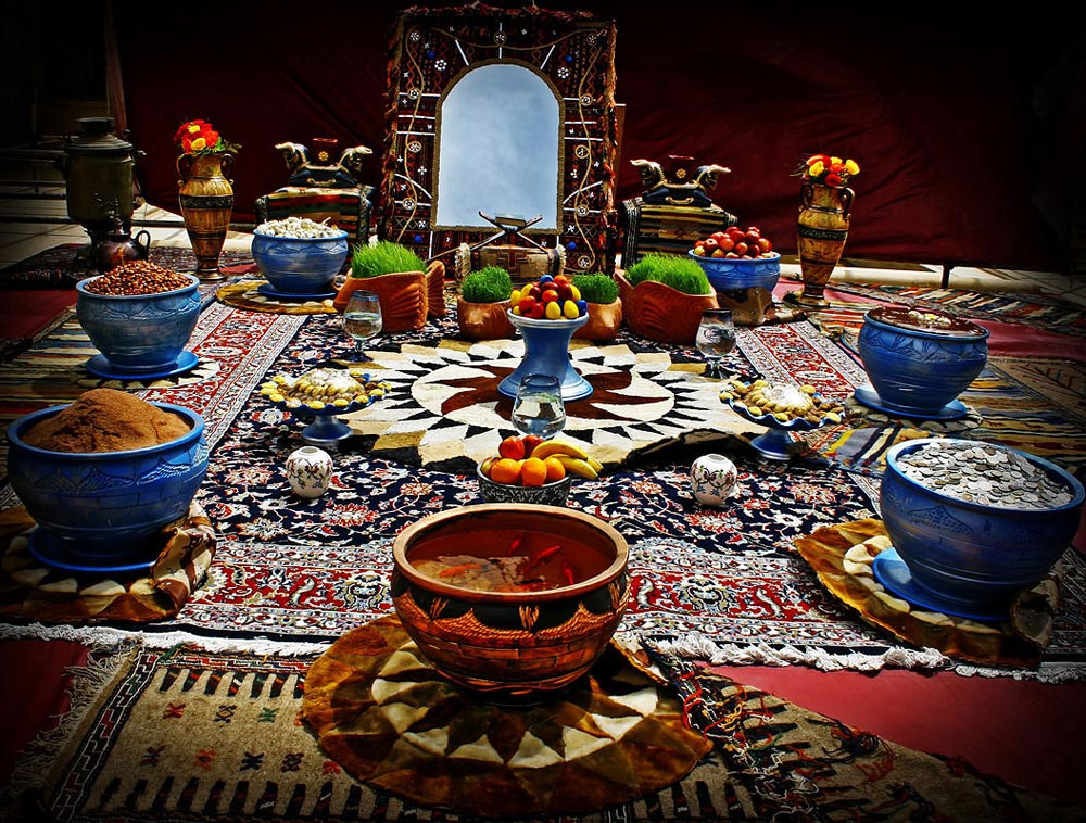 NOWRUZ CELEBRATION and Sofreye Haft-seen
