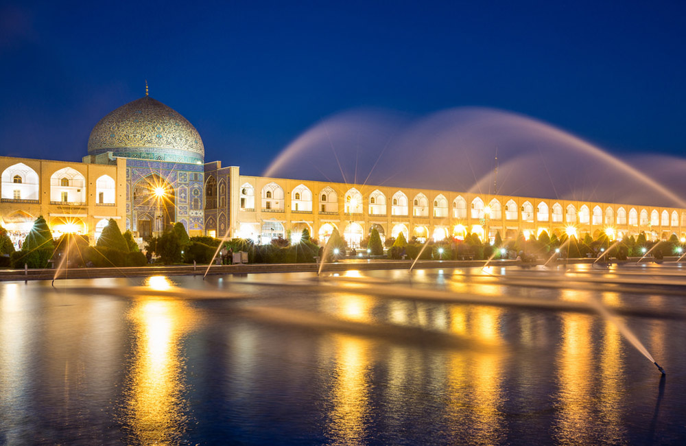 The Extravagant Naghsh-e Jahan Square