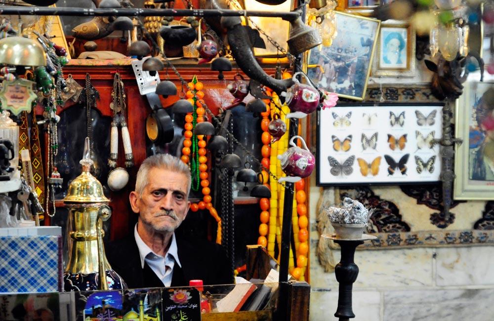 The Grand Bazaar of Tehran (Bazar-e Bozorg)