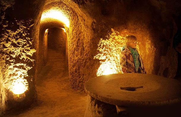 Underground City in Kashan, Iran