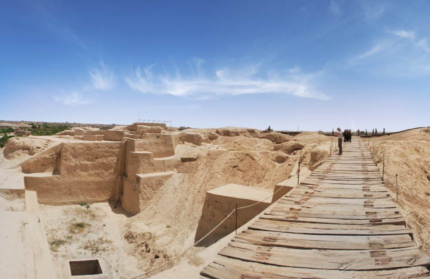 World's Oldest Ziggurat in IRAN TAPPEH-YE SIALK