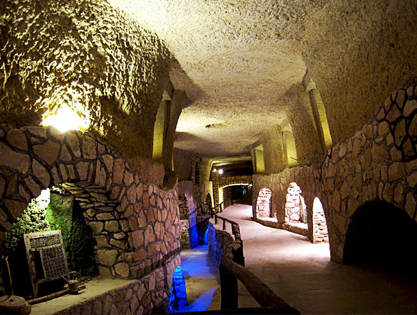 Underground City of Kariz on Kish Island