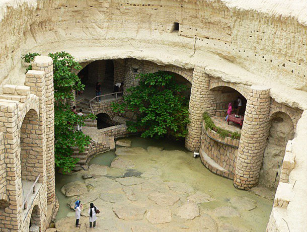 Underground City of Kariz In Iran