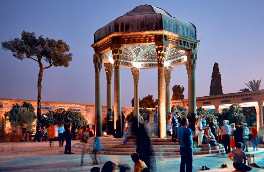 TOMB OF HAFEZ (Hafezieh): THE RESTING PLACE OF ONE WORLD'S MOST SPIRITUAL POETS