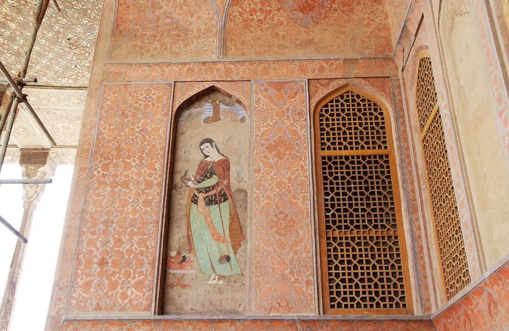 The Monumental Kakh-e Ali Qapu, Royal Residence of Shah Abbas