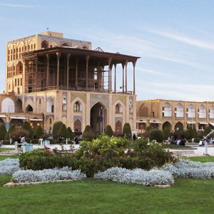 The Extravagant Kakh-e Ali Qapu, Residence of the Great Persian Shah Abbas I