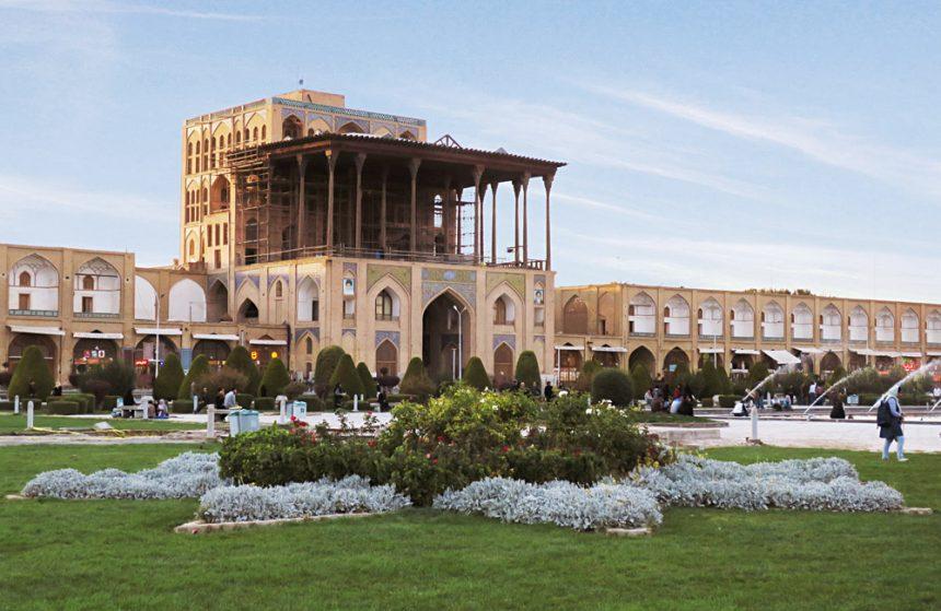 The Extravagant Kakh-e Ali Qapu, Residence of the Great Persian Shah Abbas I