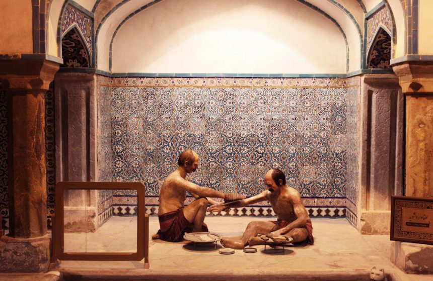 THE TRADITIONAL HAMMAM-E GANJ ALI KHAN During the Safavid Era