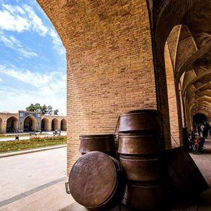 The Historic Bazaar of Kerman Dating Back to 1,500 Years Ago