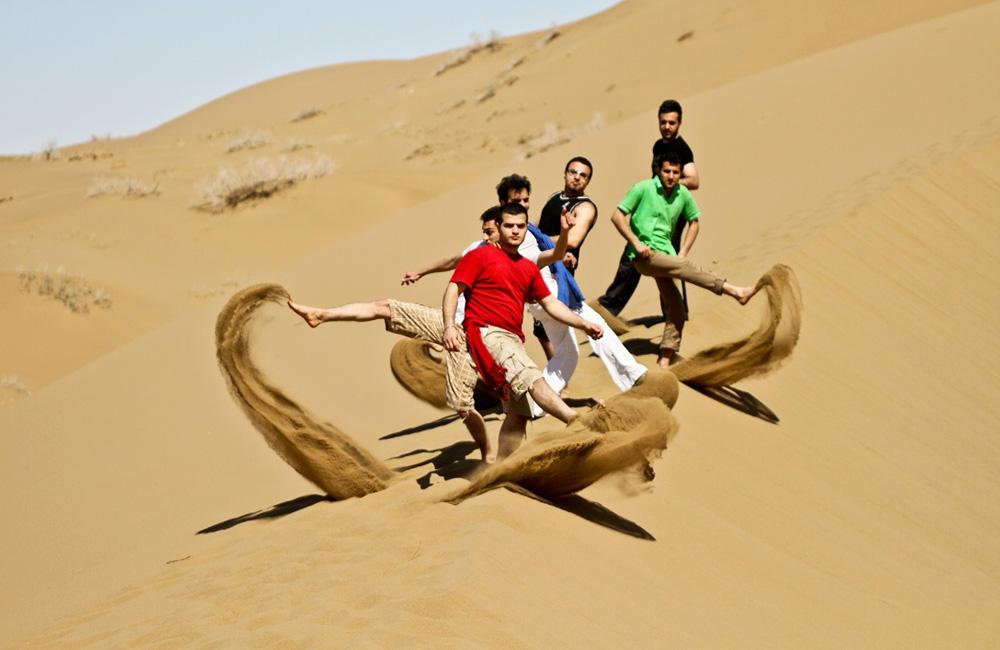 Amazing energy, sand dunes, scenery, night sky and safari rides in Maranjab