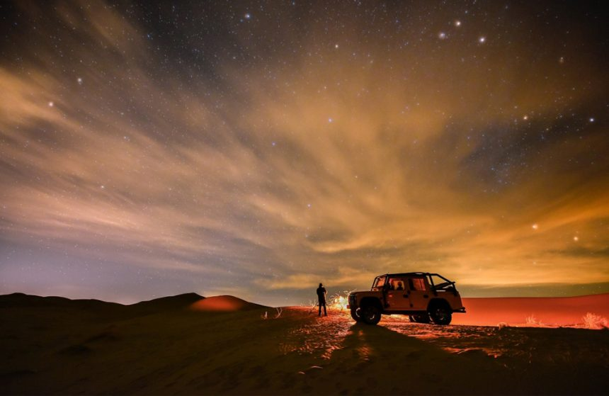 THE SPECTACULAR MARANJAB DESERT
