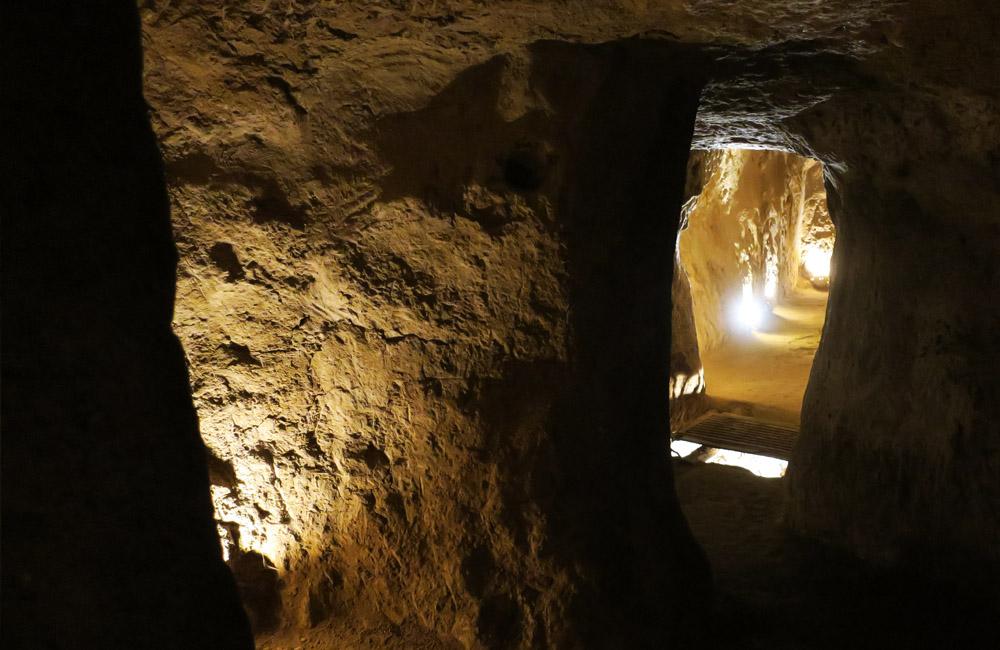 The Underground City of Nushabad - Photo by Mahshid Mazaheri
