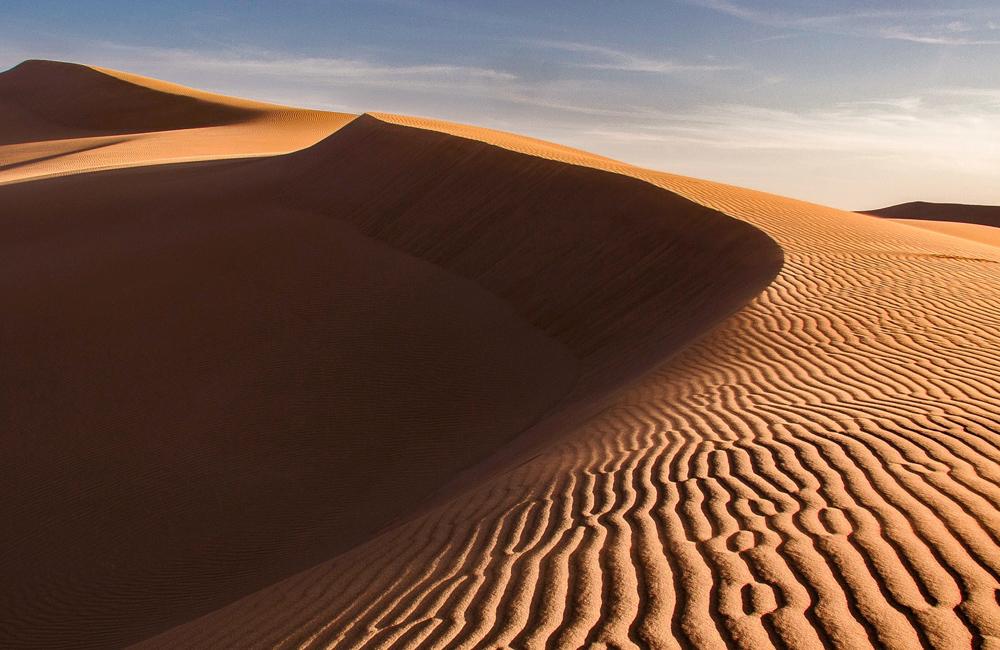 The White Hot Lut Desert