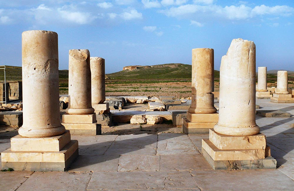 Ancient Pasargadae through Time