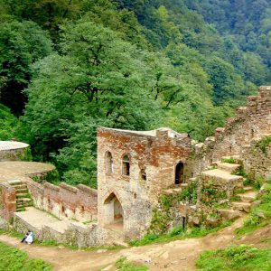 Rudkhan Castle, the Ancient Castle in Iran