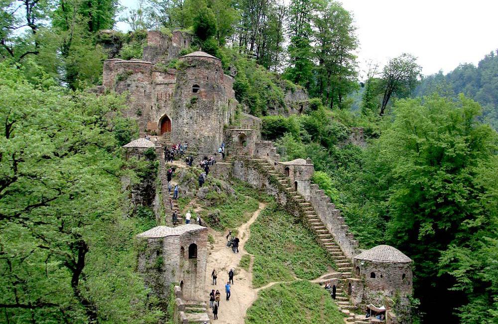 Wonderful Rudkhan Castle Gilan,Iran