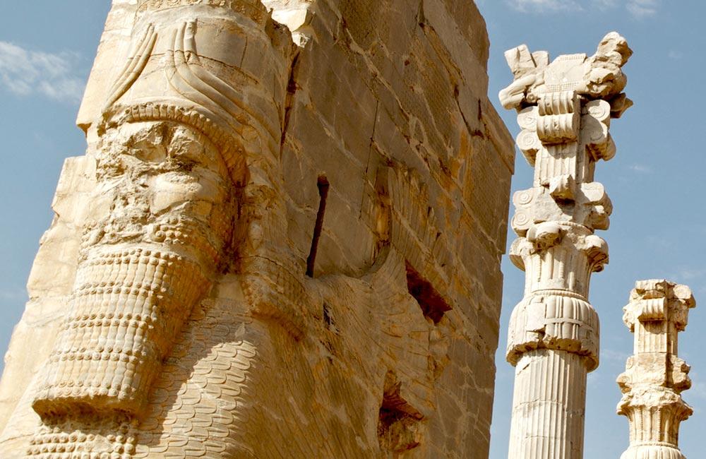 Famous Symbols of Persepolis (Takht-e Jamshid)