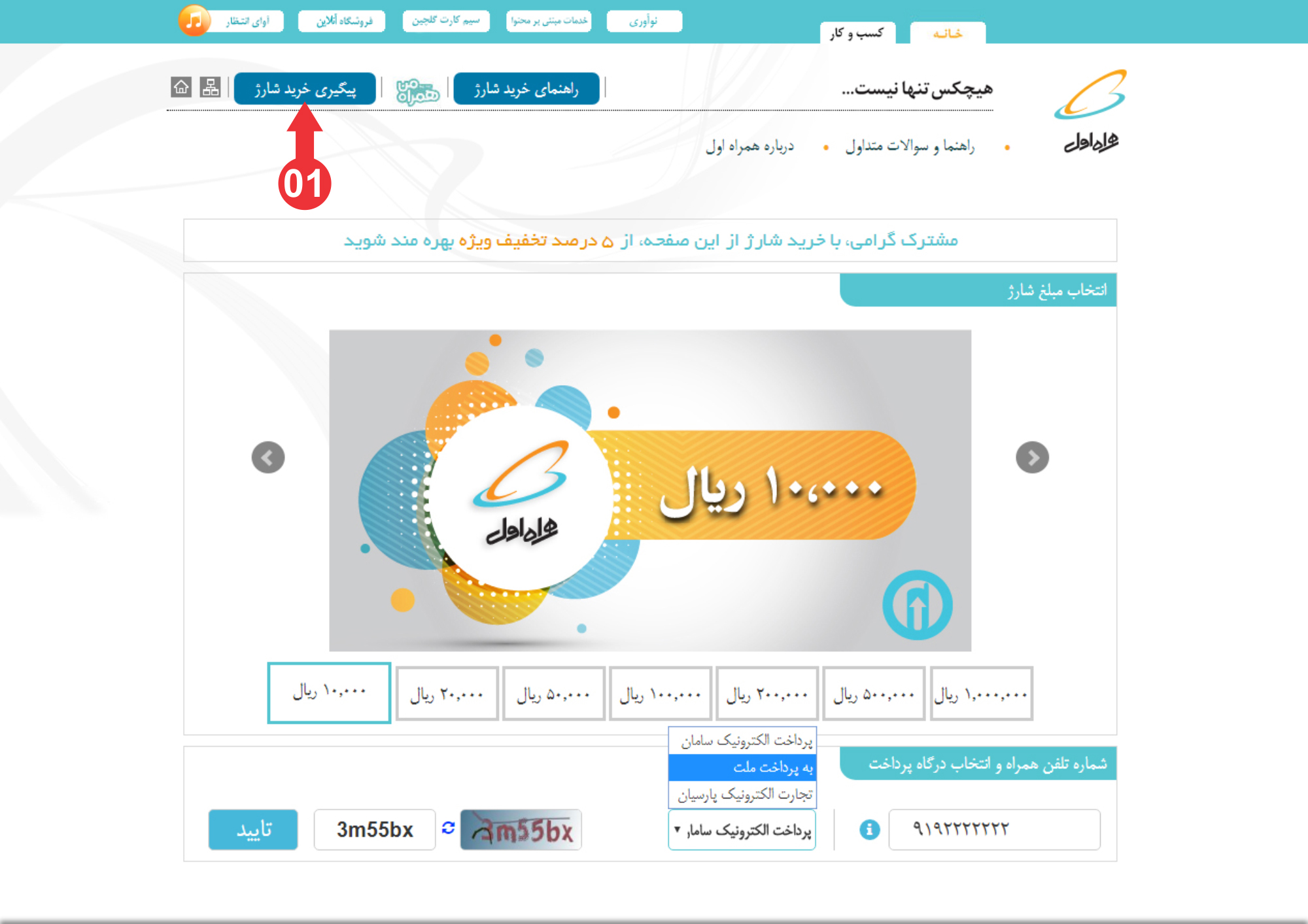 First step for purchase inquiry Internet Access in Iran