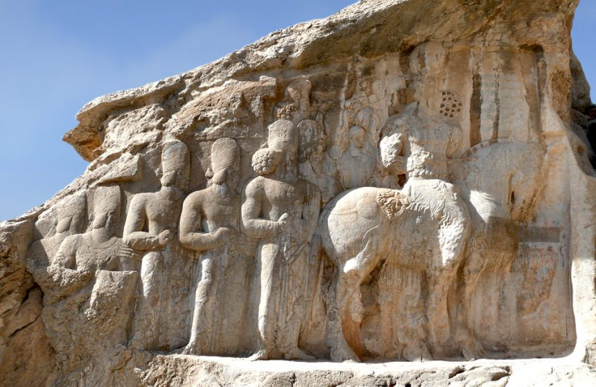 Naqsh-e Rajab, The Story of Sasanid Kings Investiture on Rock Relief