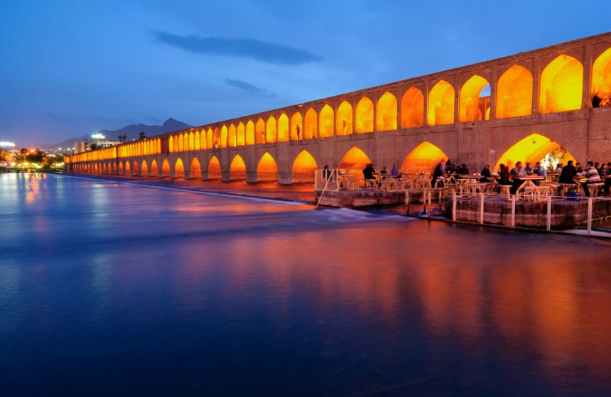 Si-o-se-pol Bridge, a Monumental Bridge to Walk Through the Endless Nights of Isfahan