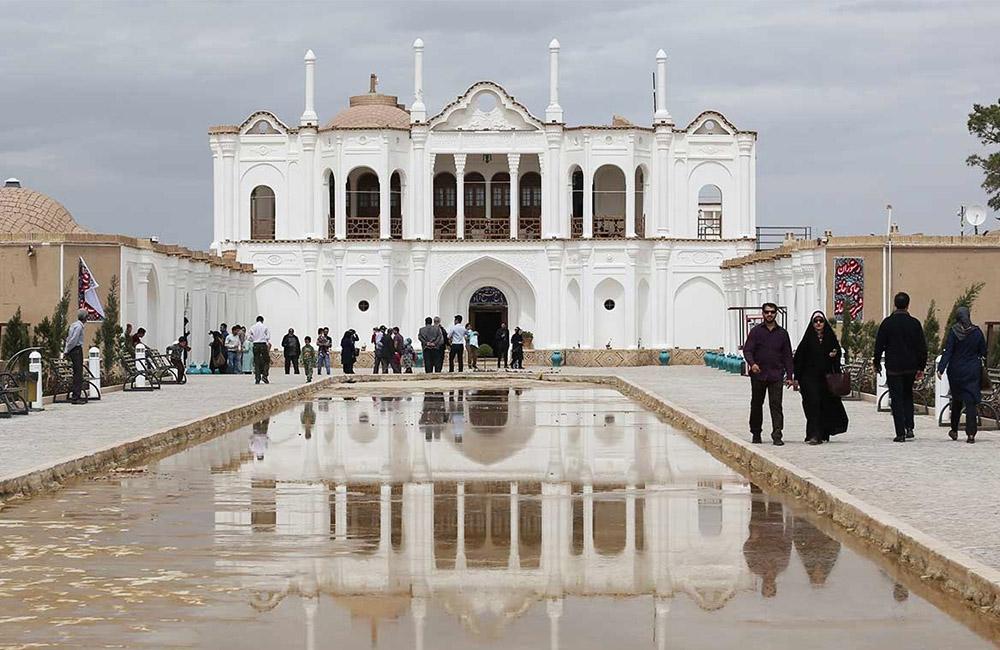 The Fathabad Garden and Mansion, Kerman, Iran