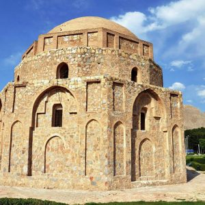 The Magnificent Gonbad-e Jabaliye, Millennia Old and Still Standing in Kerman, Iran