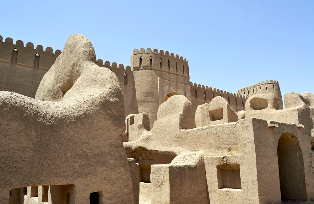 Rayen Castle in Kerman, Iran (Arg-e Rayen)
