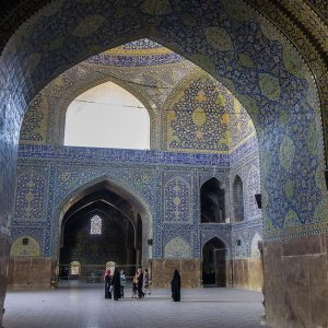 Isfahan's Most Iconic Mosque, the Beautiful Imam mosque