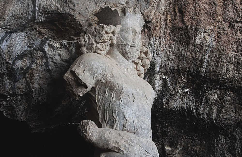 The 1,700 Year Old Shapur Statue