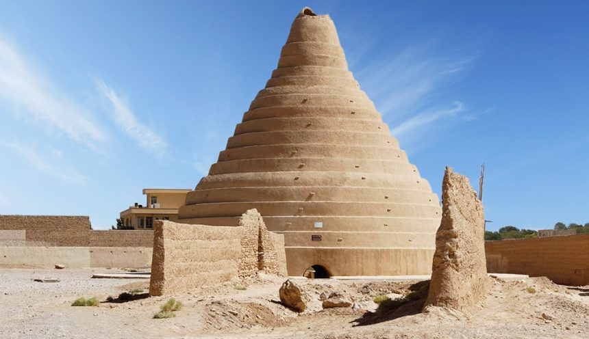 An Ancient Refrigerator, the Ice House of Abarkuh in Yazd, Iran
