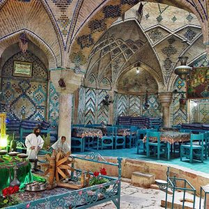 The Traditional Hammam-e Vakil in Kerman, Now Serving Tea and Pastries!