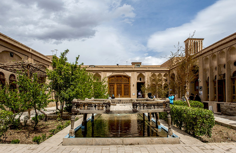 Lari House in Yazd, Iran