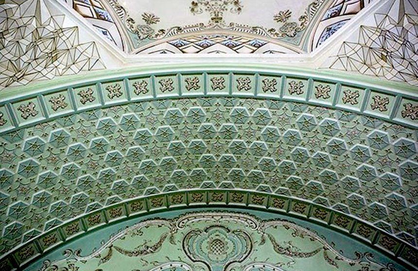 The Elegant Mirror & Lighting Museum in Yazd, Iran