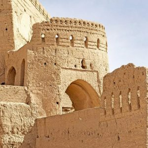 The Ancient Narin Castle (Narin Qal'eh) in Yazd, Iran
