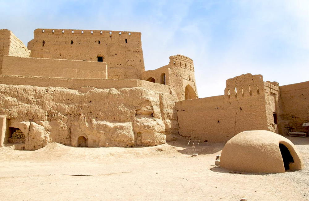 The Historical Narin Castle in Yazd