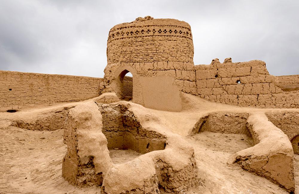 Narin Castle (Narin Qal'eh) in Yazd, Iran