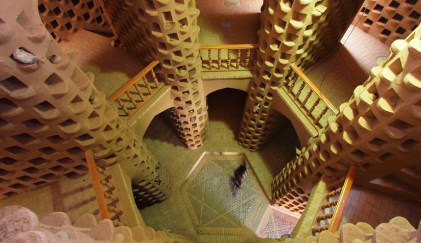 The Centuries-old Pigeon Tower of Meybod in Yazd