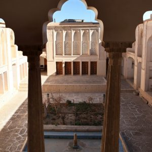 The Solat House and Anthropology Museum in Yazd, Iran