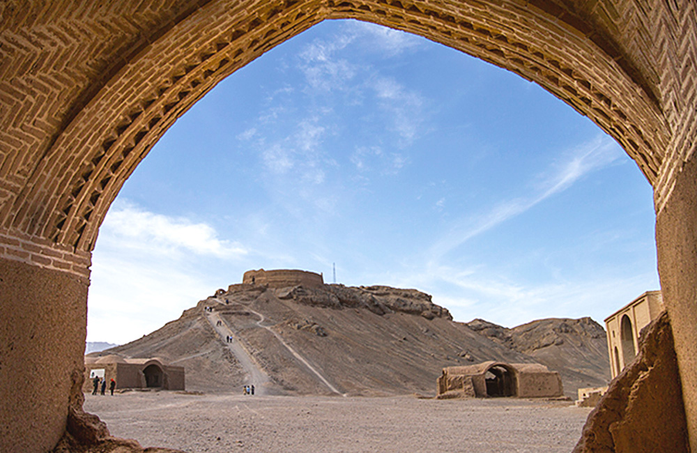 The Sacred Zoroastrian Towers of Silence