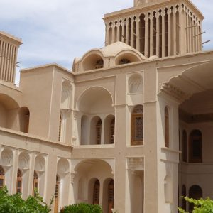 The Glorious Aghazadeh Mansion in Yazd, Iran