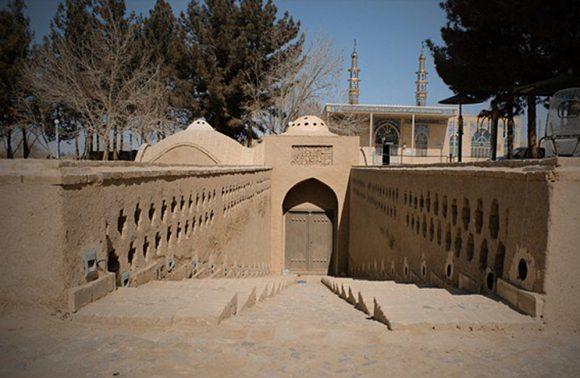 The 14th Century 'Ashkezar Water Mill' in Yazd, Iran