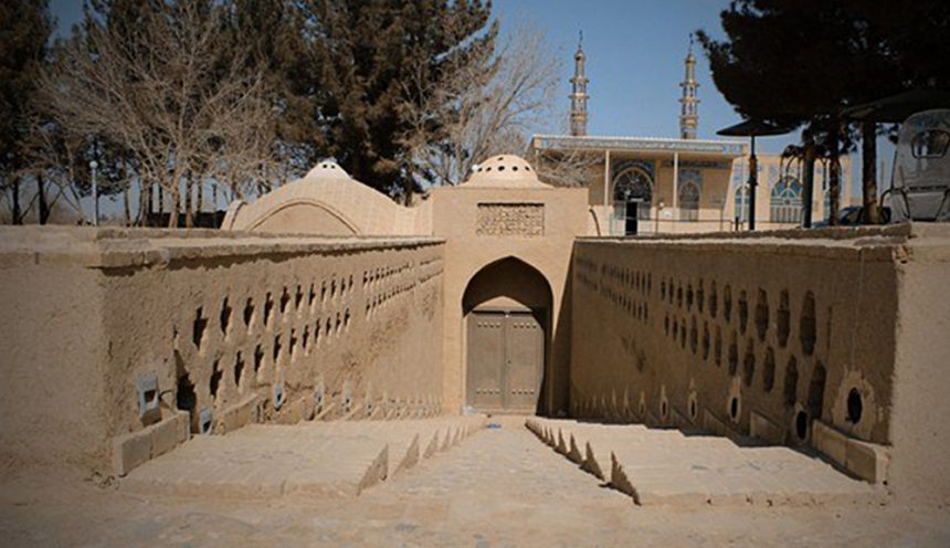 The 14th Century 'Ashkezar Water Mill' in Yazd, Iran