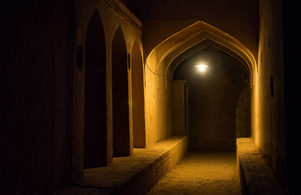 Old Town Yazd in Iran