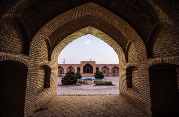 The 500 Year Old Shah Abbasi Caravanserai of Yazd, Iran