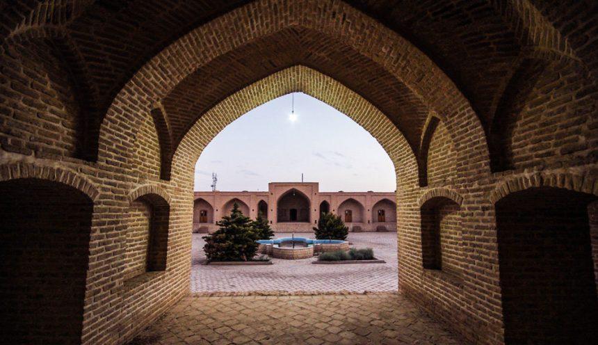 The 500 Year Old Shah Abbasi Caravanserai of Yazd, Iran