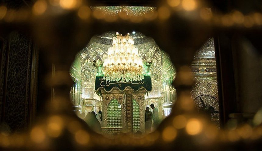 The Stunning Shah Cheragh Mosque in Shiraz, Iran