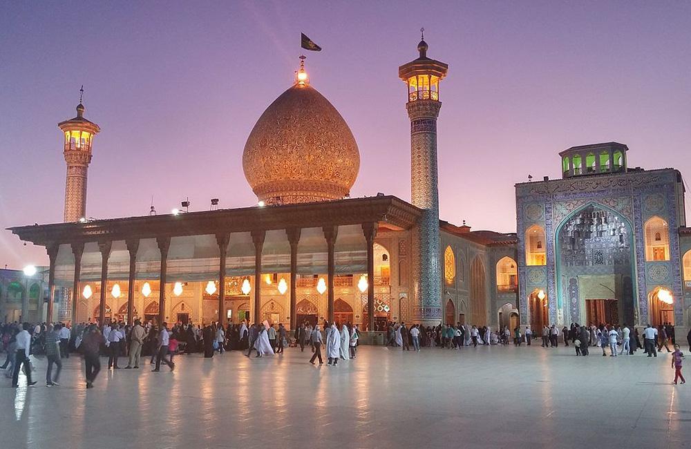 Shah Cheragh Mosque and Mausoleum in Shiraz