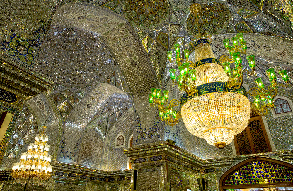 Shah Cheragh Mosque in IRAN
