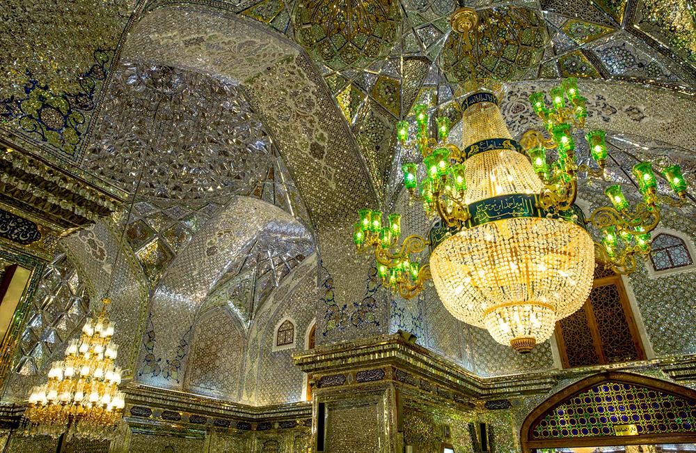 Shah Cheragh Mosque in IRAN