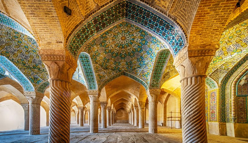 The Stunning Persian Vakil Mosque in Shiraz, Iran